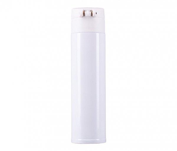 Kubek termiczny NIBIRI 350 ml szczelny z blokadą biały