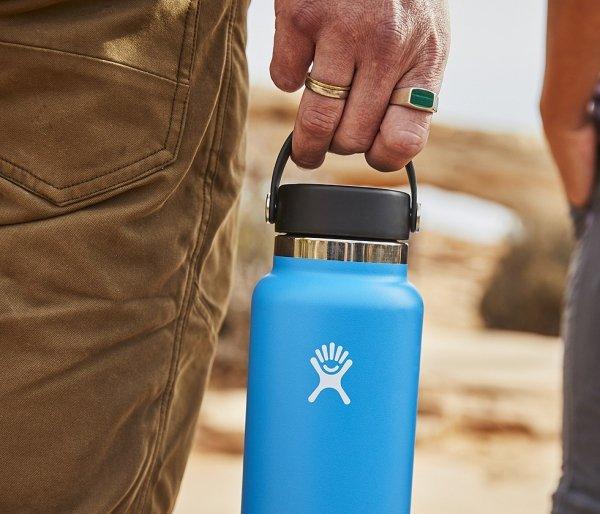 Termos Hydro Flask Wide Mouth 2.0 Flex Cap 946 ml cobalt - granatowy vsco