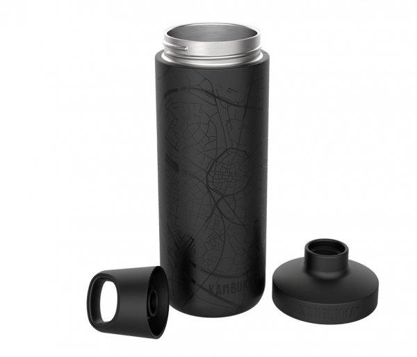 Butelka termiczna Kambukka Reno 500 ml 100% Hasselt czarny