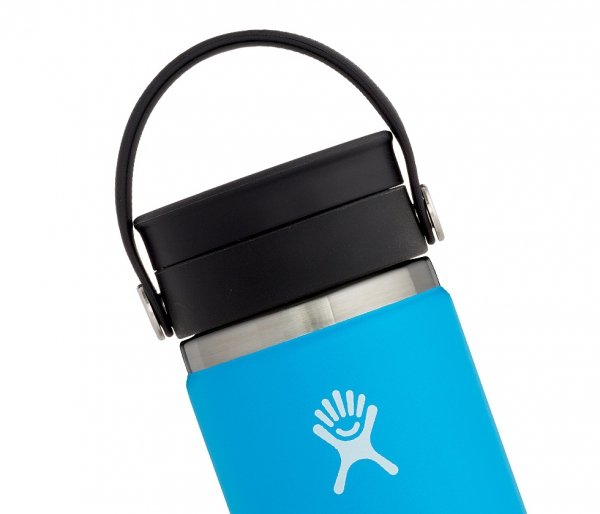 Kubek termiczny Hydro Flask 354 ml Coffee Wide Mouth Flex Sip pacific - niebieski
