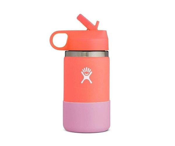 Kubek termiczny dla dzieci Hydro Flask Kids Straw Lid 355 ml hibiscus pomarańczowy