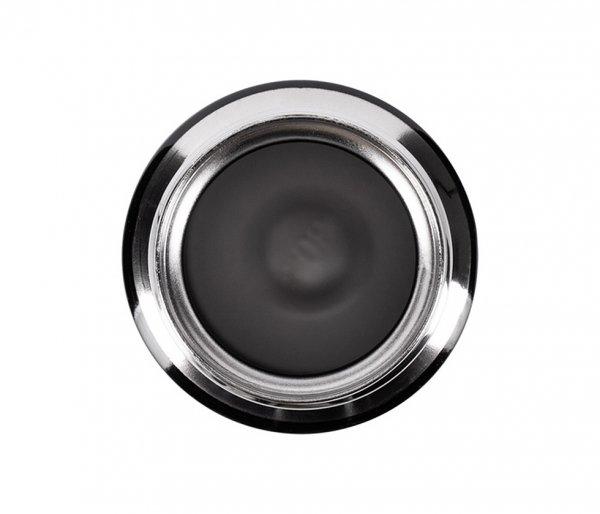 Kubek termiczny NIBIRI 350 ml szczelny z blokadą czarny