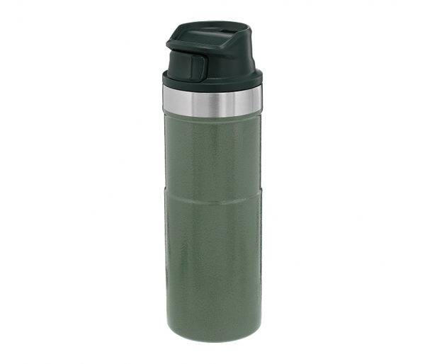 Kubek termiczny Stanley 470 ml TRIGGER ACTION TRAVEL MUG zielony