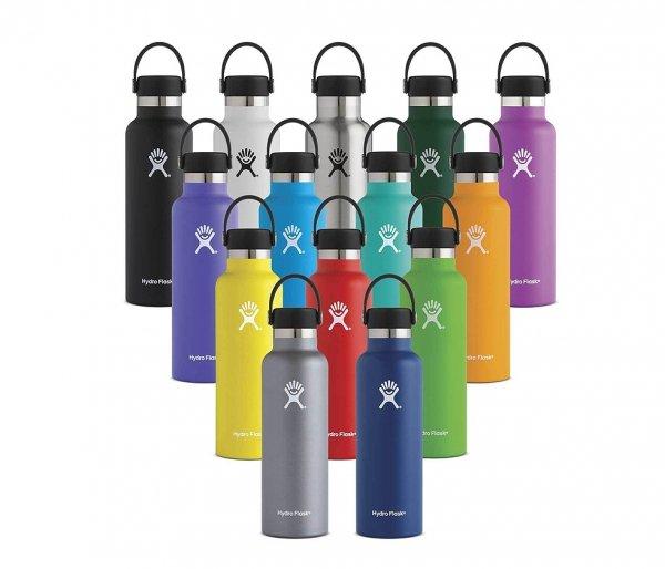 Butelka termiczna Hydro Flask 709 ml Standard Mouth With Flex Cap biały