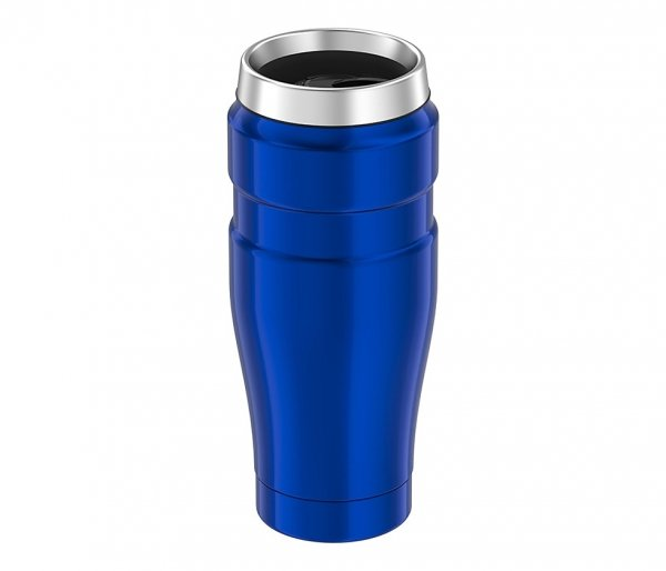 Kubek termiczny Thermos Travel King 470 ml niebieski
