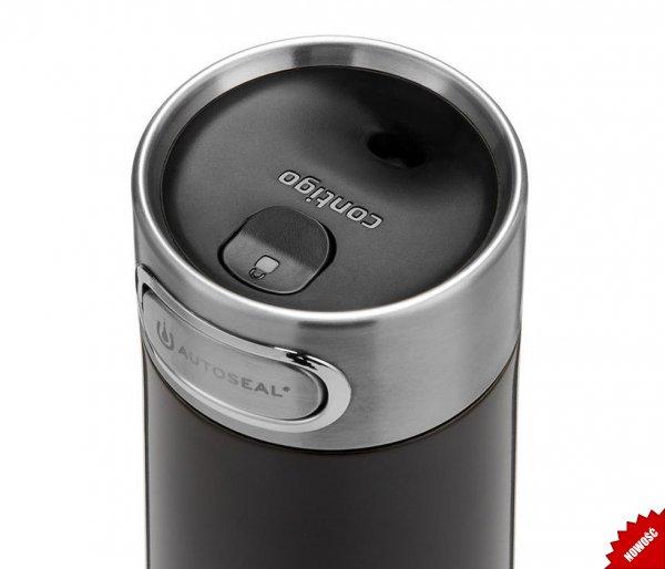 Kubek termiczny Contigo Luxe 360 ml Licorice czarny