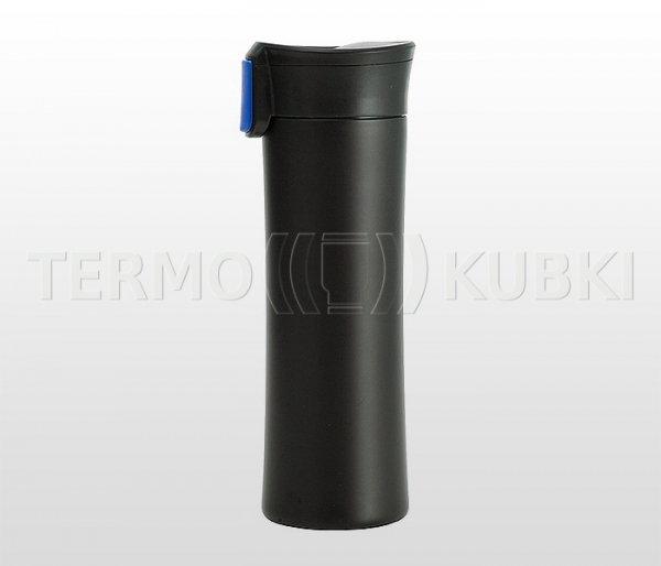 Kubek termiczny 540 ml ASTON (czarny/niebieski)