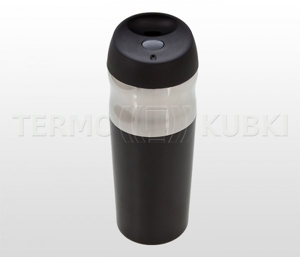 Kubek termiczny 450 ml MUSTANG2 (czarny)