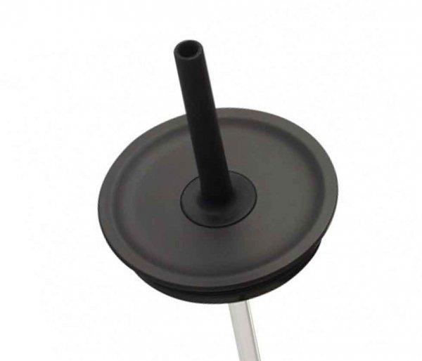 Przykrywka ze słomką do kubków Hydro Flask Tumbler Straw Lid 650 ml czarny