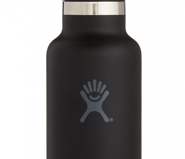 Butelka termiczna Hydro Flask 532 ml Standard Mouth Flex Cap Skyline black vsco