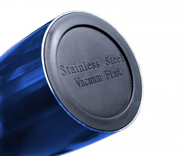 Kubek termiczny PROOFI 350 ml na klik niebieski podkładka