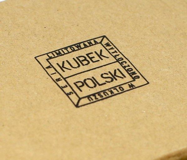 Kubek Polski Festiwalowy emaliowany 350 ml biały