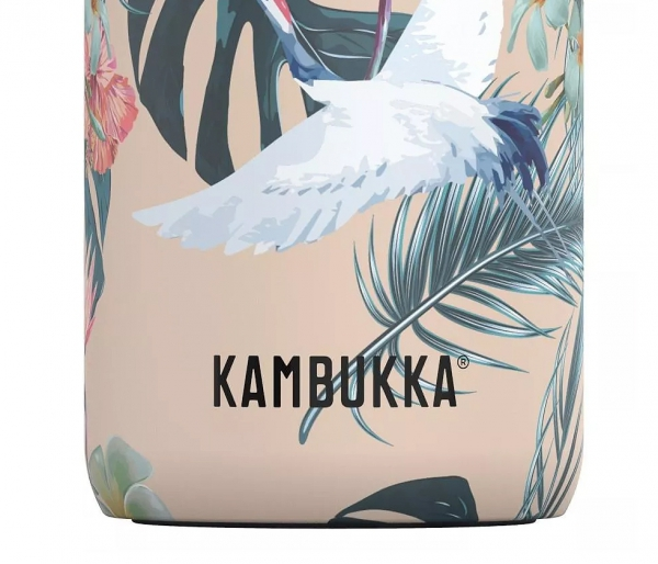 Kubek termiczny Kambukka Etna 500 ml Paradise Flower beżowy