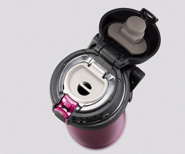 Kubek termiczny Zojirushi Flip-and-Go 480 ml z ceramiczną powłoką bordowy