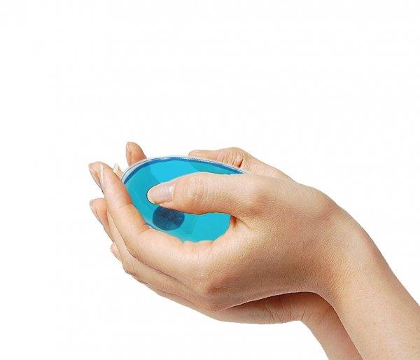 Ogrzewacz do rąk HOTY owalny niebieski
