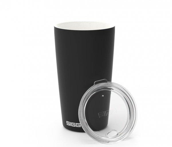 Kubek ceramiczny termiczny Sigg NESO CUP 400 ml czarny Creme Black