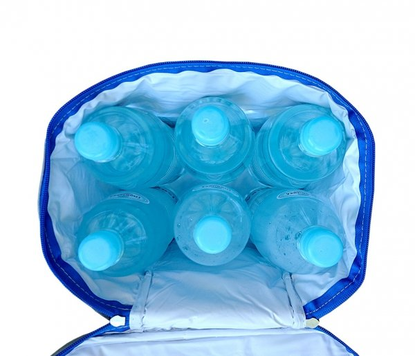 Torba termoizolacyjna z rączkami WINTER niebieski