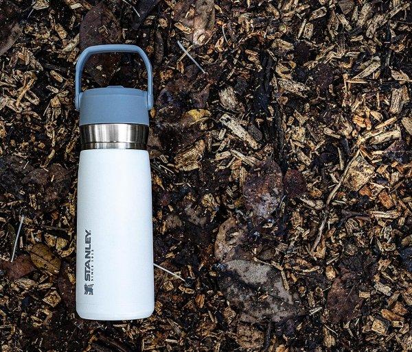 Bidon termiczny STANLEY GO FLIP STRAW 650 ml ze słomką