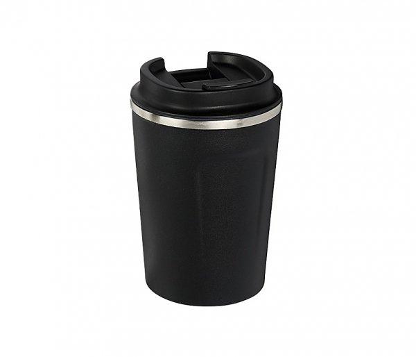 Kubek termiczny COPPER MINI 380 ml z miedzianą izolacją czarny