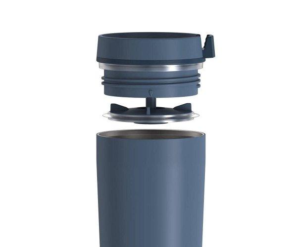 Kubek termiczny szczelny Guardian THERMOS 355 ml szaroniebieski