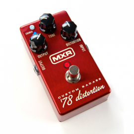 DUNLOP DL MXR M 78 CUSTOM BADASS DISTORTION
