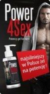 OSTATNIE SZTUK Power4Sex  150ml