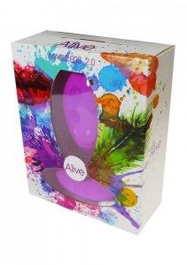Jajko/wibr-Wibrator - Egg Remote control. Func.:10. Violet.AAA