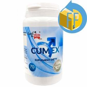 Cumex 70 kaps. ZWIĘKSZA WYTRYSK