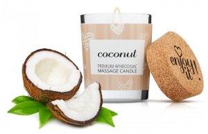 Świeca do masażu 70 ml kokosowa