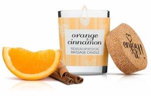 Świeca do masażu 70 ml Pomarańcza i Cynamon