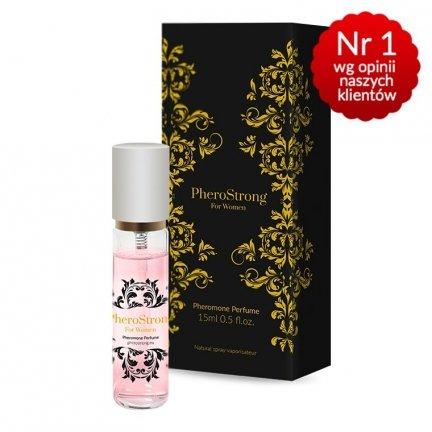 Pherostrong Perfumy podniecające mężczyzn +feromony 15ml DAMSKIE