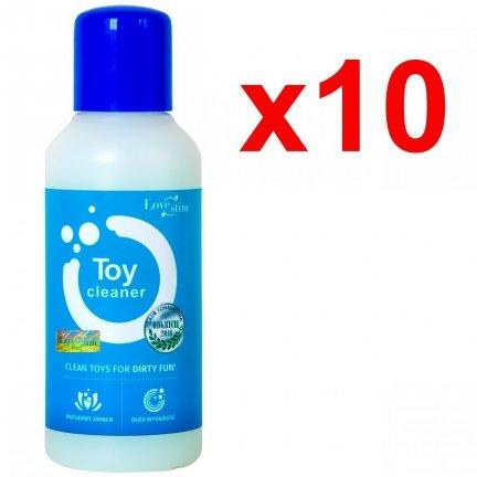 10x Toy Cleaner 100ml antybakteryjny środek czyszczący