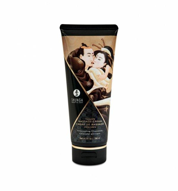 Shunga - Intoxicating Chocolate Kissable Massage Cream 200 ml