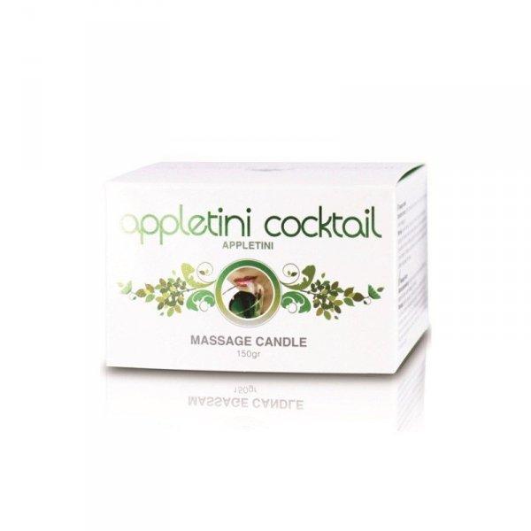 Świeca/krem-Appletini Cocktail Massage Candle Tin (Appletini)