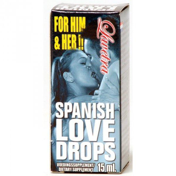 Supl.diety-SPANISH LOVE DROPS LAVETRA 15 ML