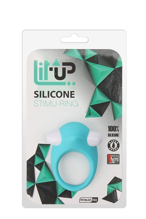 Pierścień-LIT-UP SILICONE STIMU RING 6 BLUE