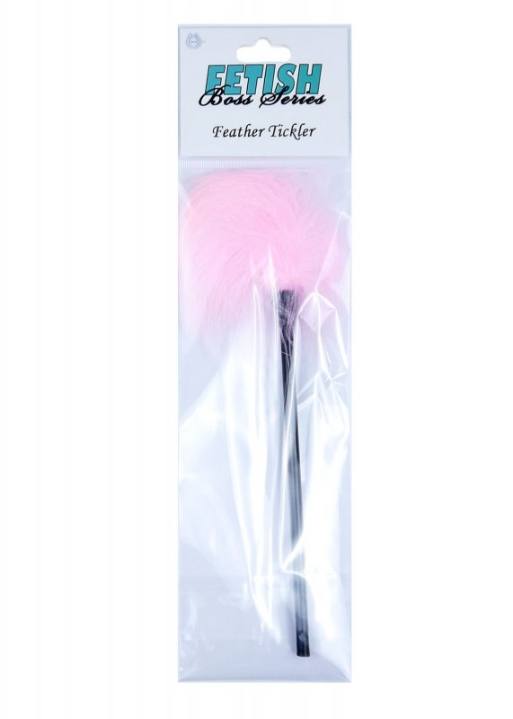 Feather Tickler Pink - Boss Series Fetish