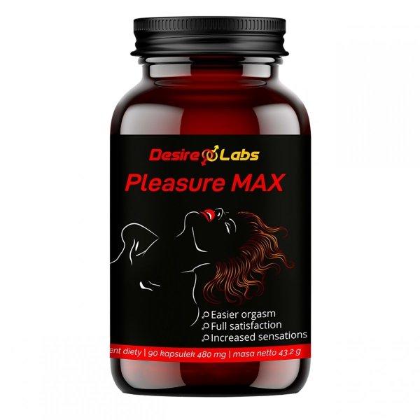 Pleasure Max 90k Wzmacnia wrażliwość na doznania i orgazm WEGE
