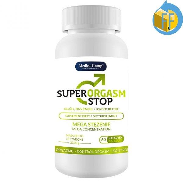 Super Orgasm Stop suplement - opóźnienie wytrysku
