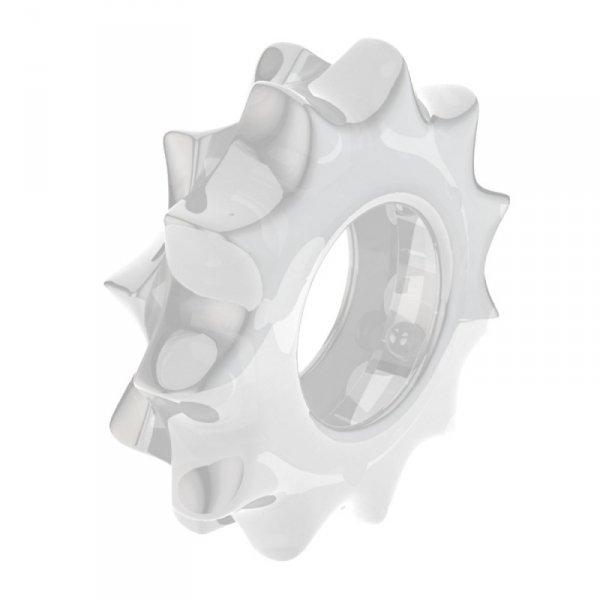 Pierścień na penisa Lovetoy Power Plus przezroczysty śr. 1,7cm