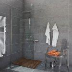 Ścianka prysznicowa narożna Easy In 100 cm, szkło transparentne