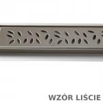 Odpływ liniowy 60 cm ruszt liście XMD040