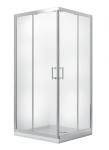Kabina prysznicowa kwadratowa Modern 185 90x90 cm mrożona