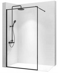 Ścianka szklana Bler czarna loft 120 cm