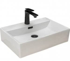 Umywalka ceramiczna nablatowa Bonita 51x36 REA-U8701
