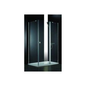 Kabina prysznicowa SAREMA 100x80 cm