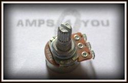 Potencjometr Logarytmiczny A 250K - 16mm