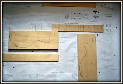 Plan budowy gitary GIBSON ES 335