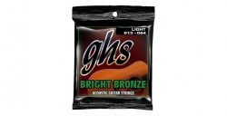Struny GHS Acoustic Bright Bronze Light 012-054 (akustyk)