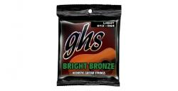Struny GHS Acoustic Bright Bronze Light 012-054 (akustyk)